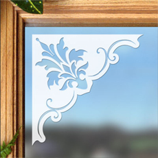 Doral Corner   An Easy Way To Dress Up A Window, Glass Door,